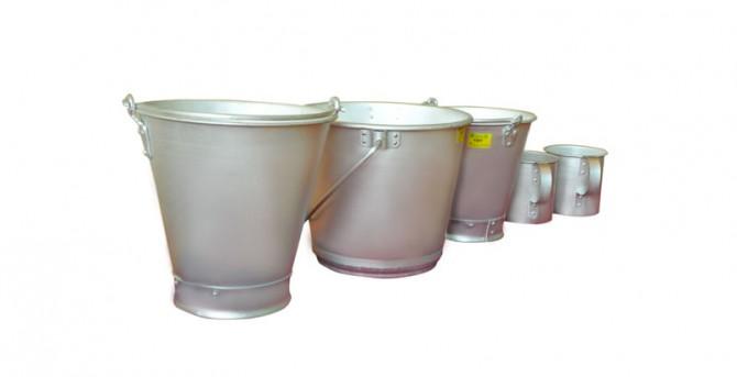 Aluminium bucket